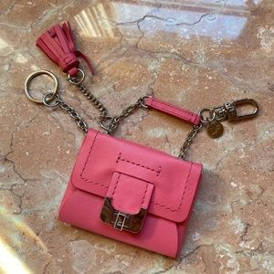 Diane Von Furstenberg Accessories - Diane von Furstenberg Mini Purse Keychain